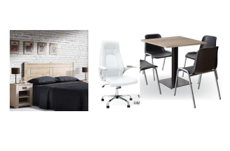 Muebles rusticos y forja online for Muebles kit salon
