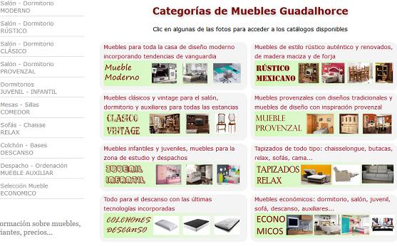 Muebles guadalhorce en m laga tienda de muebles for Muebles provenzales online